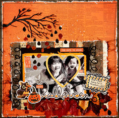 Happy Halloween, October, 2017,Scraps of Darkness Kit