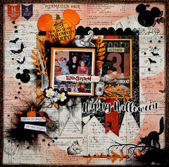 Happy Halloween, Oct, 2017, Scraps of Darkness Kit