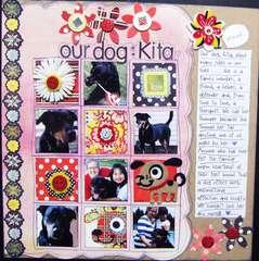 our dog: Kita