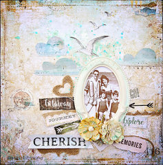 Cherish. Scraps of Darkness Kit Club.