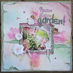 Peace Love Garden