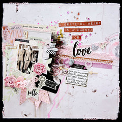 A Grateful Heart . . . Scraps of Darkness Kit