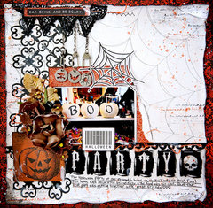 Halloween Party  October Scraps of Darkness, 2017
