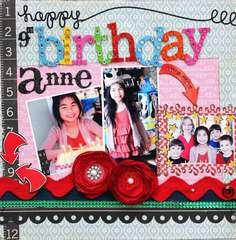 Happy 9th Birthday Anne