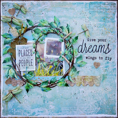 Give Your Dreams Wings to Fly-Scraps of Darkness Kit Club.