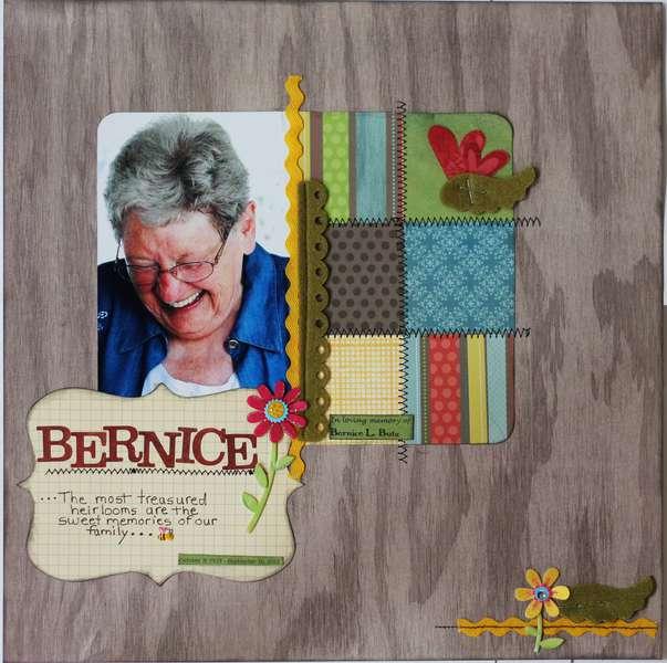 In loving memory of Bernice