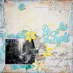 Blue Fern Studios:  Be the Light