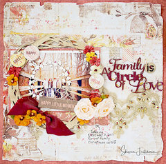 Blue Fern Studios-Family is a Circle of Love