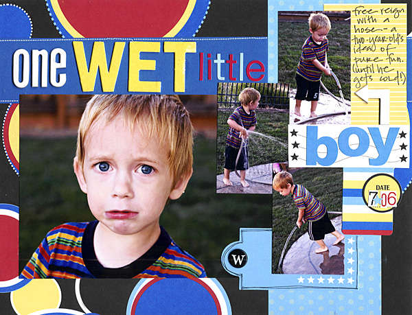 One Wet Little Boy *cherryArte*