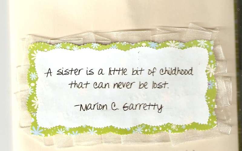 sister bday card