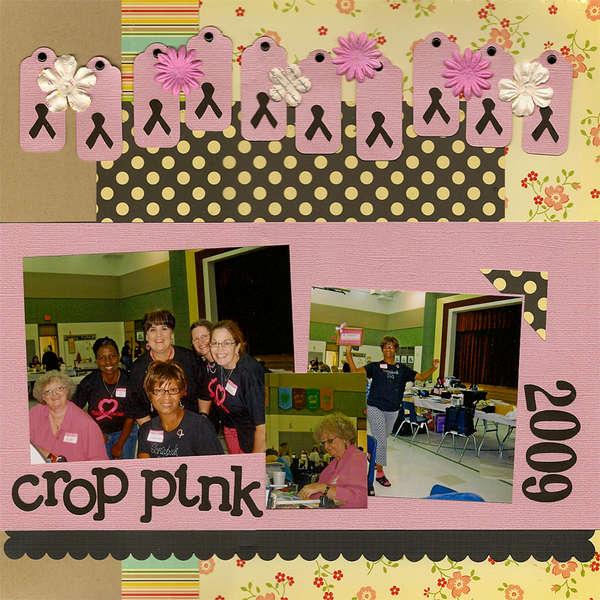 Crop Pink 2009