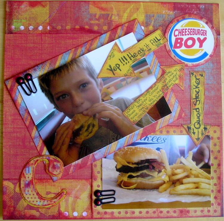cheeseburger boy