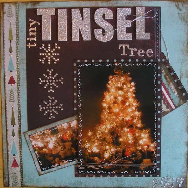 Tiny Tinsel Tree