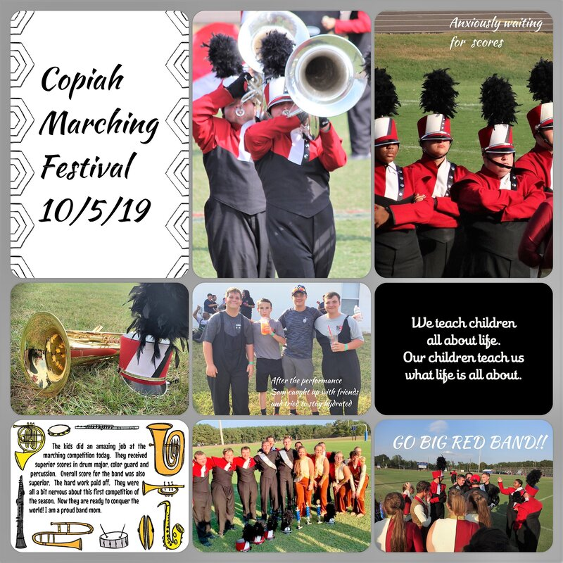Copiah Marching Festival