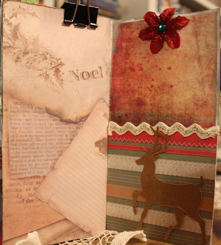 Christmas in July (journal) page 11-12