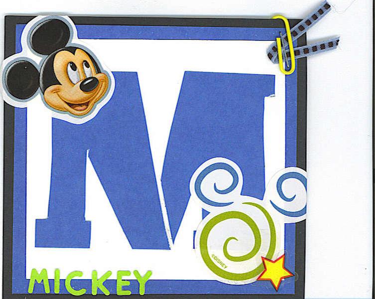 Mickey Stencil revised