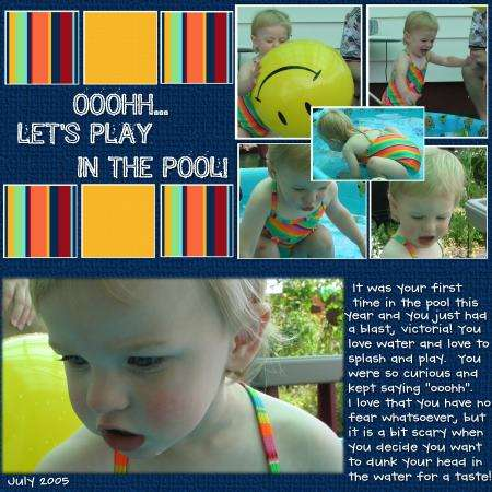 Ooohh Let's Play in the Pool
