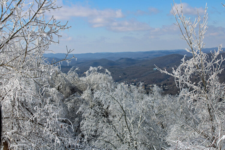 Ice at The Overlook
