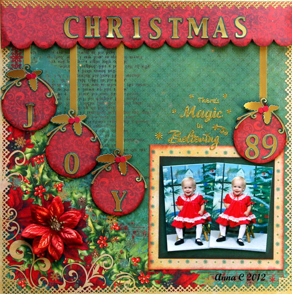 ***FUNTOOLAS DECEMBER KIT***   CHRISTMAS JOY