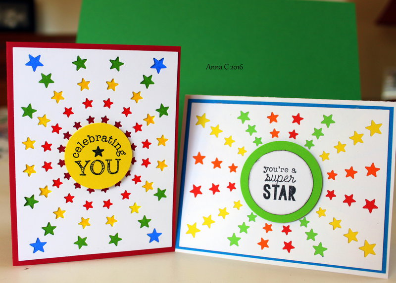 Star Burst Cards