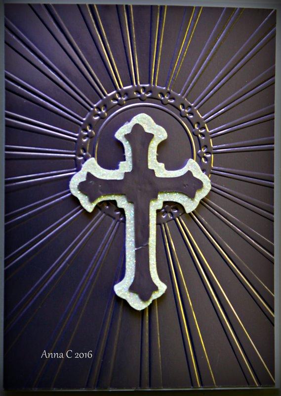 Cross and Sunburst