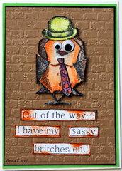 Sassy!