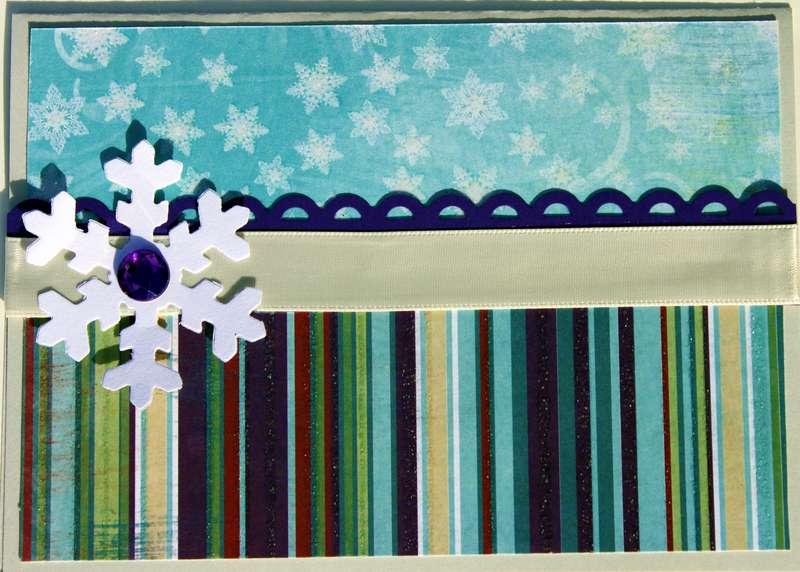 Snowy Serenade Card