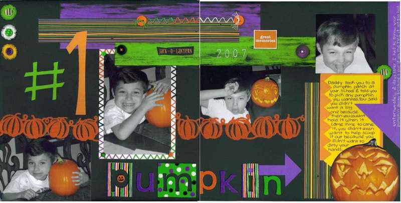 #1 Pumpkin