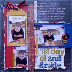 1st day of 2nd grade ~ FotoBella DT