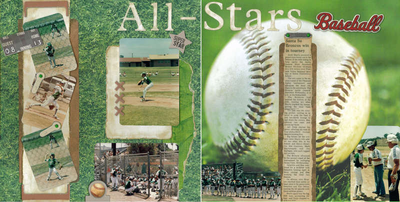 All-stars baseball