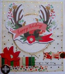 Happy Holidays MME Card ~ FotoBella DT