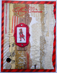 Christmas Collage Card ~ FotoBella DT