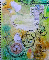 Serendipity Art Journal ~ FotoBella DT