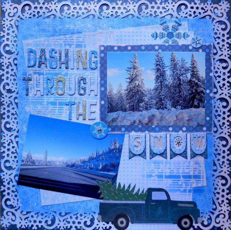 Dashing Through The Snow ~ FotoBella DT