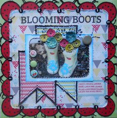 Blooming Boots ~ BOAF May Kit