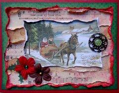 Christmas Collage Card ~ FotoBella DT