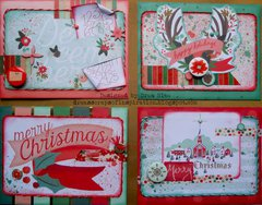 Christmas on Market Street Card Set ~ FotoBella DT