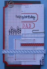 Happy Birthday Dad ~  BOAF March Kit