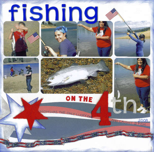Fishing on the 4th