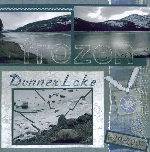 Frozen Donner Lake