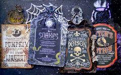 Halloween Bottle Tags