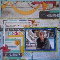 I heart Summer ~ August BOAF Kit