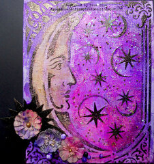 Alchemy Moon Canvas