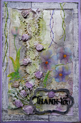 Lavender Lindy's Card