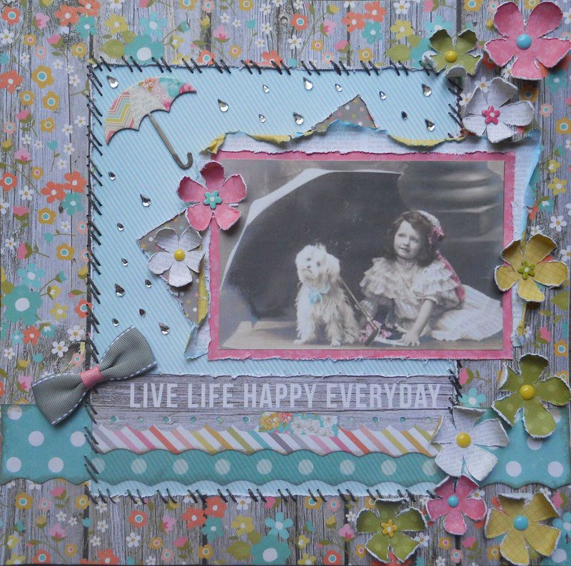 Live life happy everyday ~ BOAF May Kit Reveal