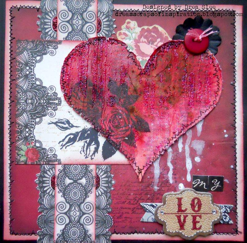 My Love Valentine's Card ~ FotoBella DT