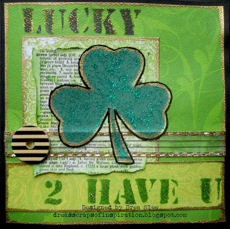 Lucky 2 Have U Card ~ FotoBella DT