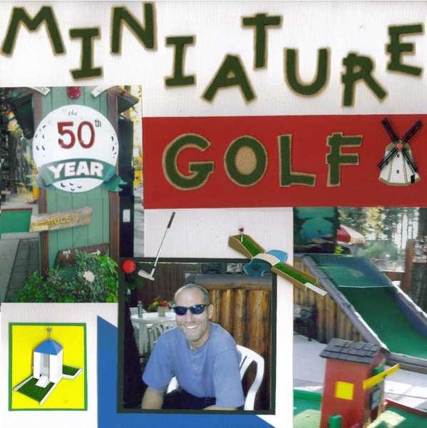 Miniature Golf Party (Left)
