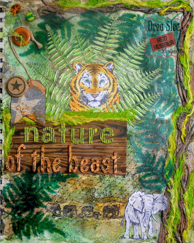 Nature of the Beast ~ Red Rubber Designs DT