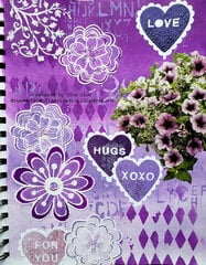 Purple Hearts and Flowers